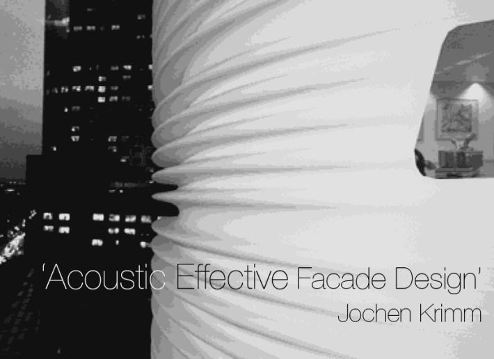 Microsoft PowerPoint - 121113 FRG Acoustic effective Facade Desi