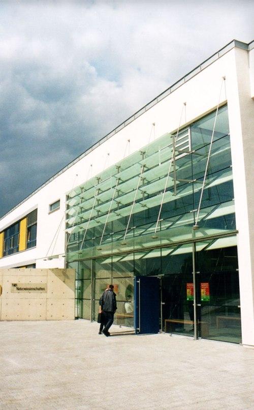 Eingangsfassafe Gebaude fur Natur und Ingenieurwissen-schaften, FH Achen-Abt.Julich 06