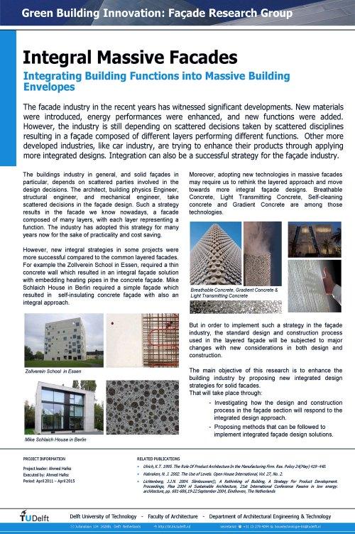 Integral Massive Facades-Ahmed Hafez